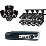 Q-See Surveillance System 16-Channel HD Analog DVR with 2TB Hard Drive, Black (QTH161-12Z6-2)