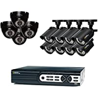 Q-See Surveillance System 16-Channel HD Analog DVR with 2TB Hard Drive, Black (QTH161-12Z6-2)