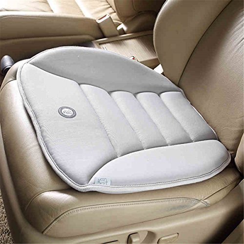 SmartDirect Coccyx Care Memory Foam Seat Cushion for Car Office Home Use (Gray)