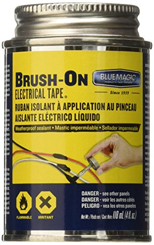 Price comparison product image Blue Magic BOT55TRI Brush Electrical Tape (12 / 4Oz)