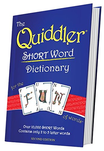 The Quiddler SHORT Word Dictionary