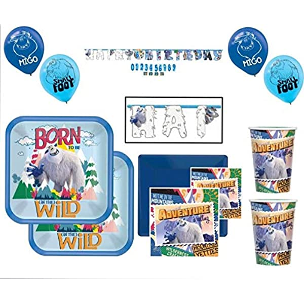 SMALLFOOT Beverage Napkins 16 in a package