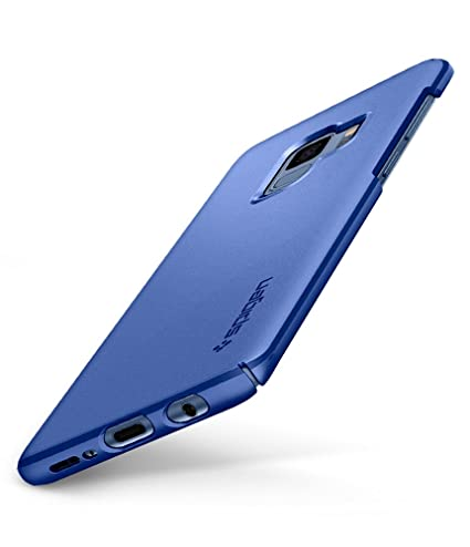 sale retailer a6f01 e1806 Spigen Thin Fit Designed for Samsung Galaxy S9 Case (2018) - Coral Blue