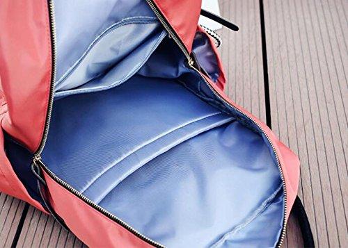 à Personnalité Creative Dames Sac Backpack Personnalité De MYLL Pour Black La Dos Pink w5fC0Rq