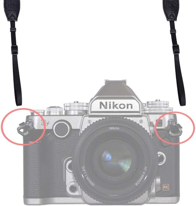 Camera Belt Accessory Camera Lug Ring Camera Strap Triangle Split Ring Hook for DSLR Camera Strap Split Ring Durable Color : 2Pack