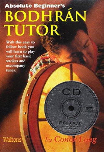 Absolute Beginner's Bodhran Tutor,Bk/CD by Mid-East