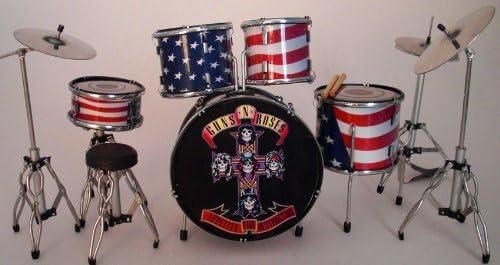 Steve RGM339 Adler Guns n Roses GNR Kit de batería Rock Guitar ...