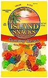 Island Snacks Gummy Bears, 8-Ounce (Pack of 36)