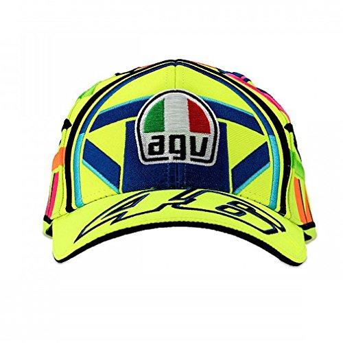 Valentino Rossi VR46 Moto GP Helmet Baseball Cap Official 2018 by Valentino Rossi