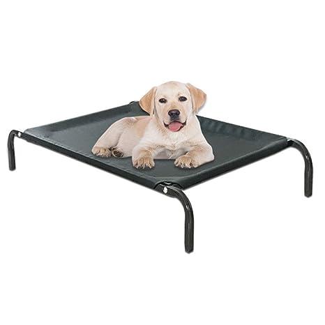 MQZC Camas De Mascota para Perros CojíN De Cama De Perro Transpirable Negro, 106x62x15cm