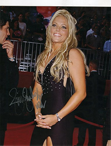 (* JENNIE FINCH * Team USA Softball gold medal sexy signed 8x10 photo / UACC Registered Dealer # 212 )