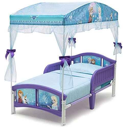 Delta Children Canopy Toddler Bed, Disney Princess 3