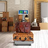 Giantex 660lbs Weight Computing Digital Scale Floor Platform Scale for Weighing Luggage Package Shipping Mailing Postal Scale with Accurate LB/KG Price Calculator, High-Definition Displa
