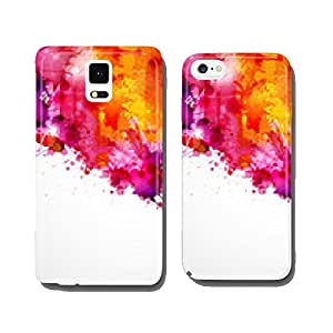 Abstract artistic Background of bright colors cell phone cover case iPhone6 Plus