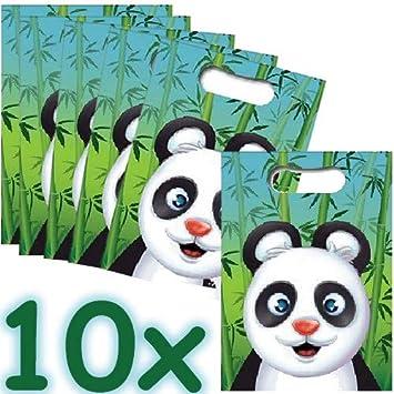 Neu: 10 Bolsas de Fiesta con diseño de Oso Panda para ...