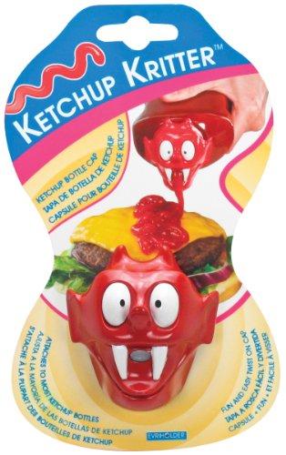 Evriholder Kitchen Kritter Ketchup Character Cap -