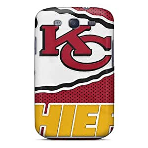 KennethKaczmarek Samsung Galaxy S3 Protective Hard Cell-phone Cases Support Personal Customs Nice Kansas City Chiefs Pictures [bzL4832pRZF]
