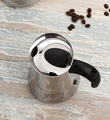 Quid 7605001 Cafetera de acero inoxidable: Amazon.es: Hogar