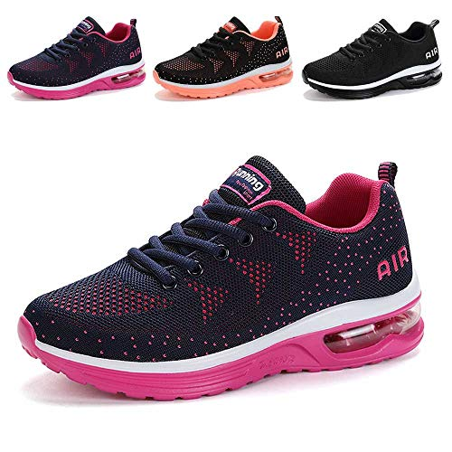 MARITONY Womens Walking Shoes, Slip on Sneakers, Lightweight Outdoor Casual Breathable Mesh Tennis Running Tennis Sneakers