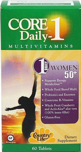Country Life - Core Daily 1 для женщин 50+ (60 таблеток)