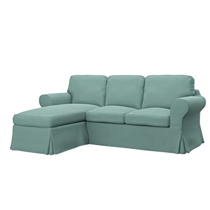 Amazon.com: Soferia - Replacement Cover for IKEA EKTORP 2 ...