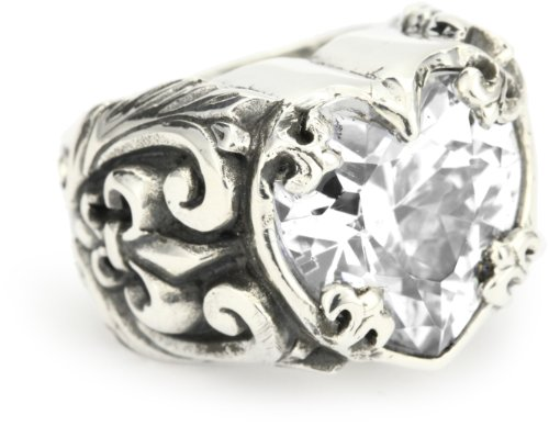 King Baby Clear Cubic-Zirconia