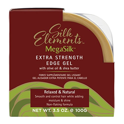 Silk Elements Extra Strength Shea & Olive Oil Edge Control (Fusion Oil Olive)