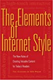 The Elements of Internet Style, EEI Press Staff, 1581154925