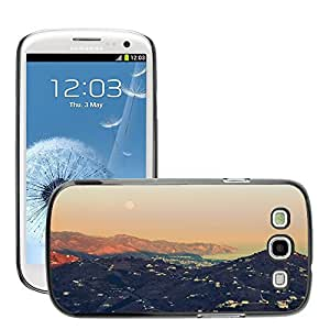 Cas Coq Case Cover // M00421503 Montañas Océano Naturaleza Paisaje // Samsung Galaxy S3 S III SIII i9300