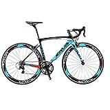 SAVADECK Carbon Road Bike, Warwinds3.0 700C Carbon Fiber Road Bicycle with Shimano SORA