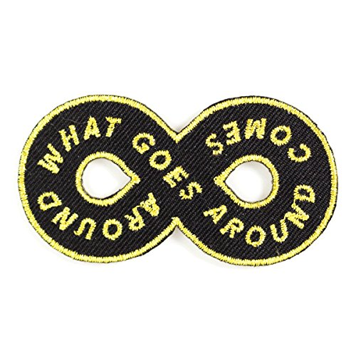 These-Are-Things-Karma-Loop-Embroidered-Iron-On-or-Sew-On-Patch