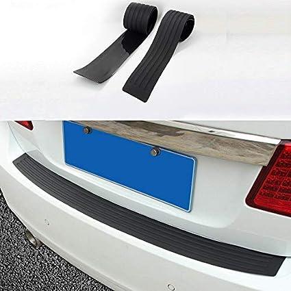 Universal Car Trunk Anti-scrape Rubber Tail Guard Bumper Protector Trim Cover