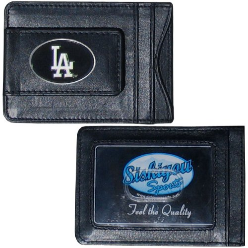 MLB Los Angeles Dodgers Leather Cash and Card (Los Angeles Dodgers Leather)