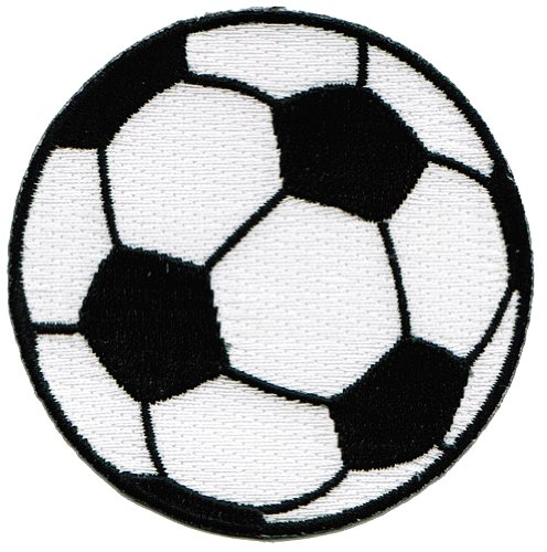 - Soccer Ball Patch Embroidered World Cup Iron-On Football Emblem