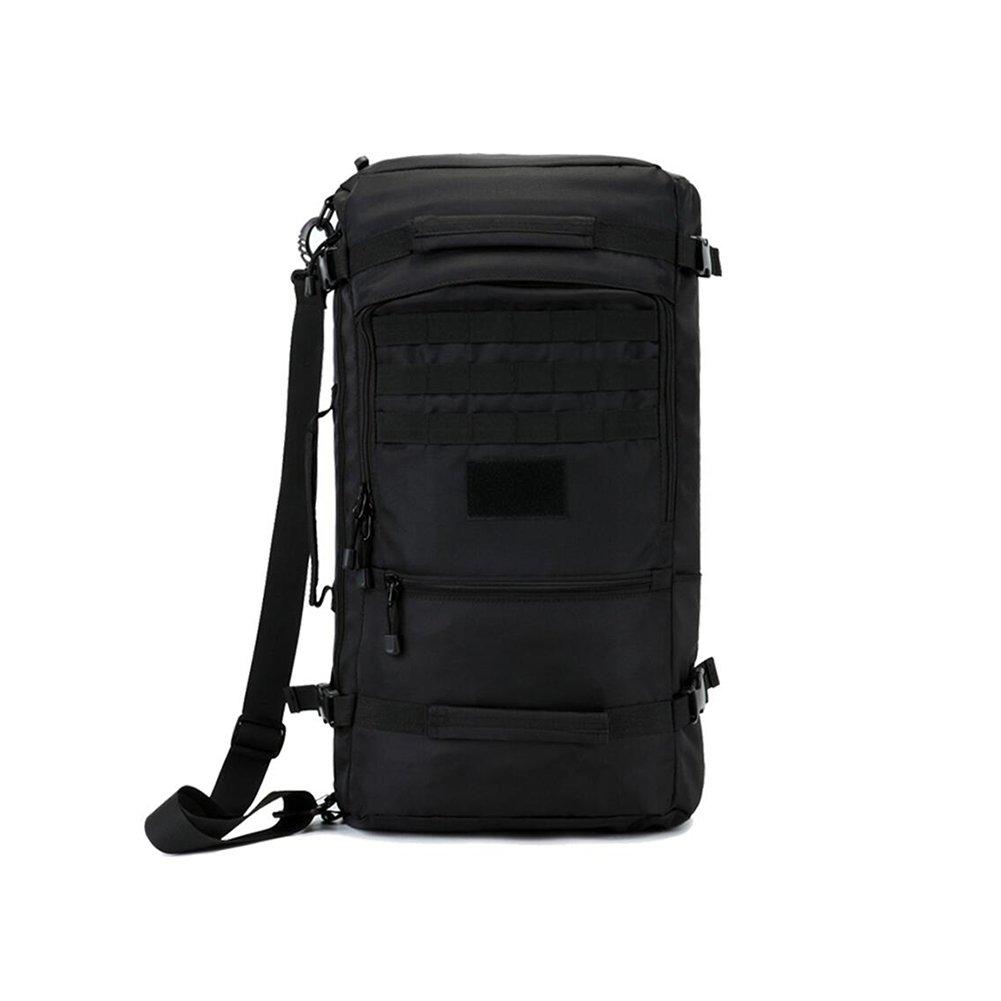 SUN Bergsteigertasche Reisen Im Freien Männer Und Frauen Student Computer Tasche 40L / 50L / 60L Schwarz (Kapazität : 40L)