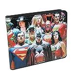 Buckle Down Kids' DC Comics Justice League Bifold Wallet, Multi-Color