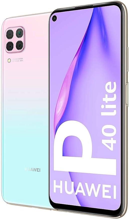 Huawei P40 Lite Smartphone 128 Gb 6 Gb Ram Dual Sim Light Pink Blue Elektronik