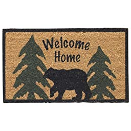 Park Designs Welcome Home Black Bear Doormat