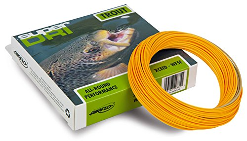 Airflo Super Dri Fly Line - Xceed Super Dri - WF5F Lichen Green / Pumpkin Orange by Airflo