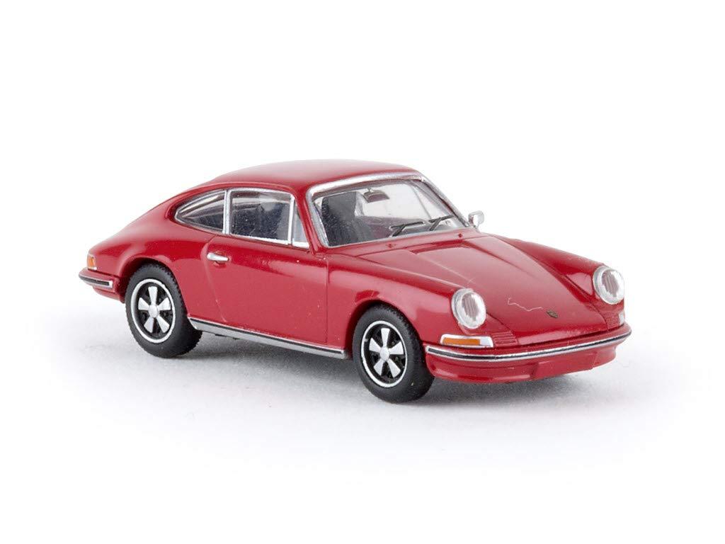 Unbekannt Porsche 911, rot, 0, Modellauto, Fertigmodell, Brekina 1:87