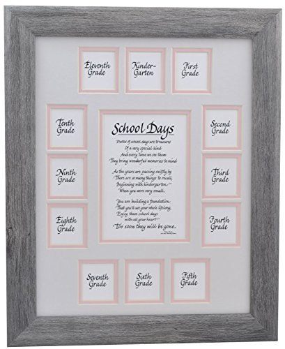 Amazon.com - School Picture Frame - 11X14 Gray Driftwood Frame ...