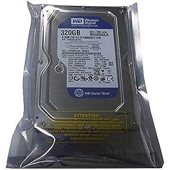 """Western Digital Caviar Blue WD3200AAJS 320GB 8MB Cache 7200RPM SATA 3.0Gb/s 3.5"""" Desktop Hard Drive"""