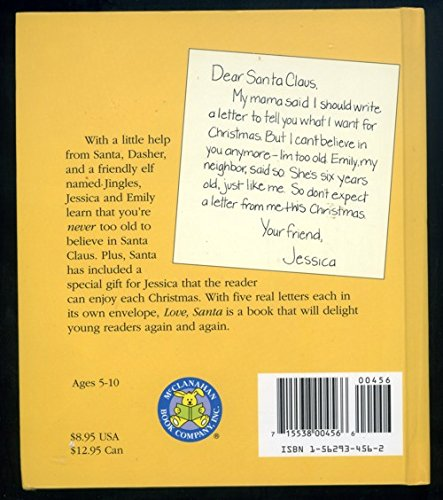 Amazon in: Buy Love, Santa: Letters from the North Pole (Letter