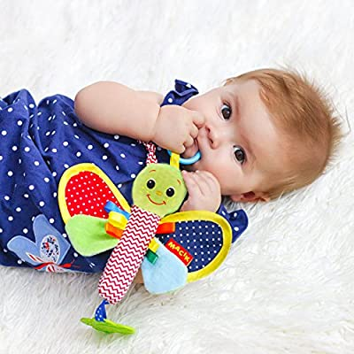 Roter Kafer Butterfly Infant Toys, Baby Rattle Teething Toys, Newborn Toys, Car Seat Toys, Stroller Toys, Baby Toys 3-6 Month by Roter Kafer that we recomend individually.