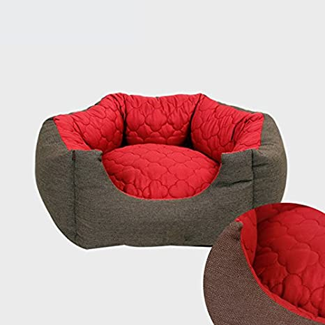 Dogshore - Cama para perro interior modelo Exagon, tela de alta calidad (64