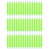 MediTac Green Glow Stick - Bright 6'' Snap Sticks With 12 Hour Duration (48 Pack)