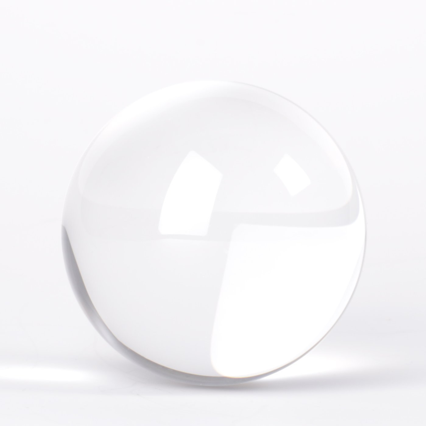 Original Lensball Pro 80mm, K9 Crystal Ball with Microfiber Pouch, Photography Accessory by Lensball