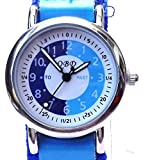 105036CC - 105036CC Boys Watch with Blue Learn to Tell the Time Dial and Blue Strap