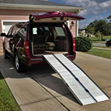 "6' (72"") Portable Aluminum Wheelchair and Scooter Ramp (6')"