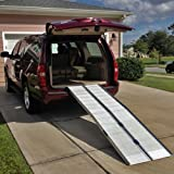 8' (96'') Portable Aluminum Wheelchair and Scooter Ramp (8')